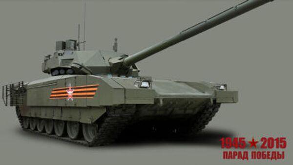 "Czołg ""Armata - Sputnik Polska"