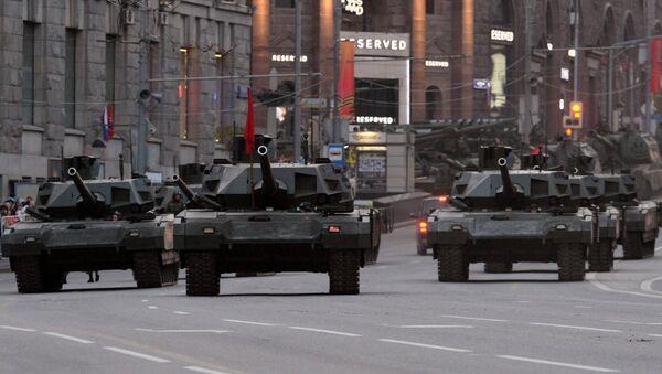 Czołgi T-14 Armata - Sputnik Polska