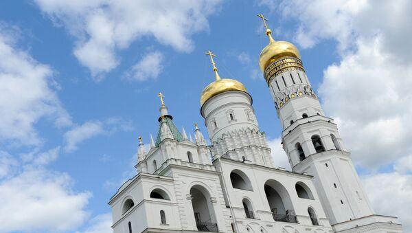 Dzwonnica Iwana Wielkiego na Kremlu - Sputnik Polska