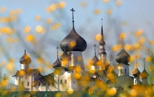 Cerkiew na Wyspach Sołowieckich - Sputnik Polska