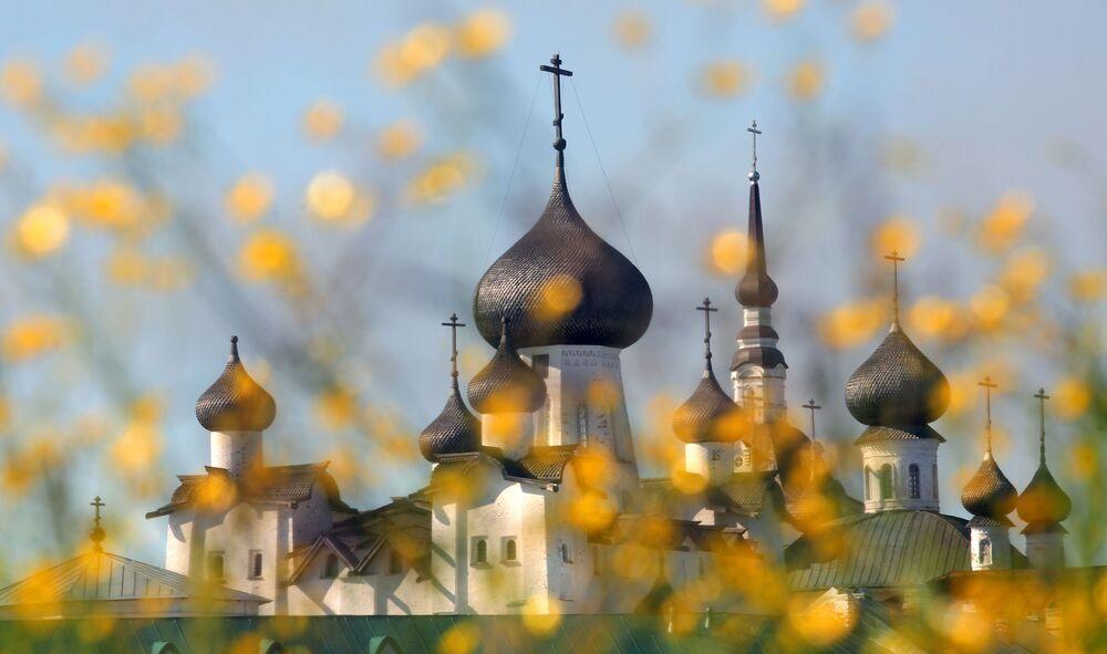 Cerkiew na Wyspach Sołowieckich