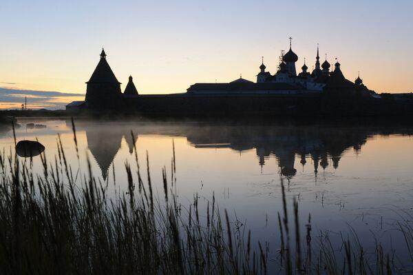Monastyr Sołowiecki - stauropigialny rosyjski klasztor prawosławny - Sputnik Polska
