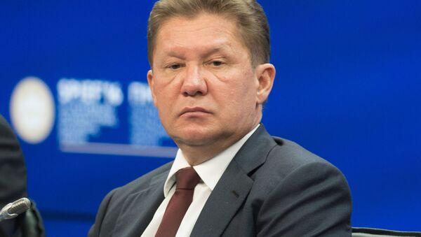 Prezes zarządu Gazpromu Aleksiej Miller. - Sputnik Polska