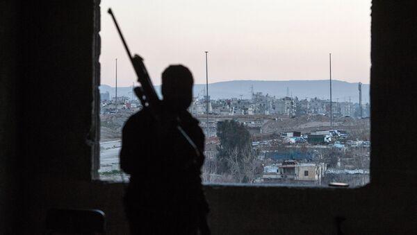 Sytuacja w syryjskim Damaszku. - Sputnik Polska