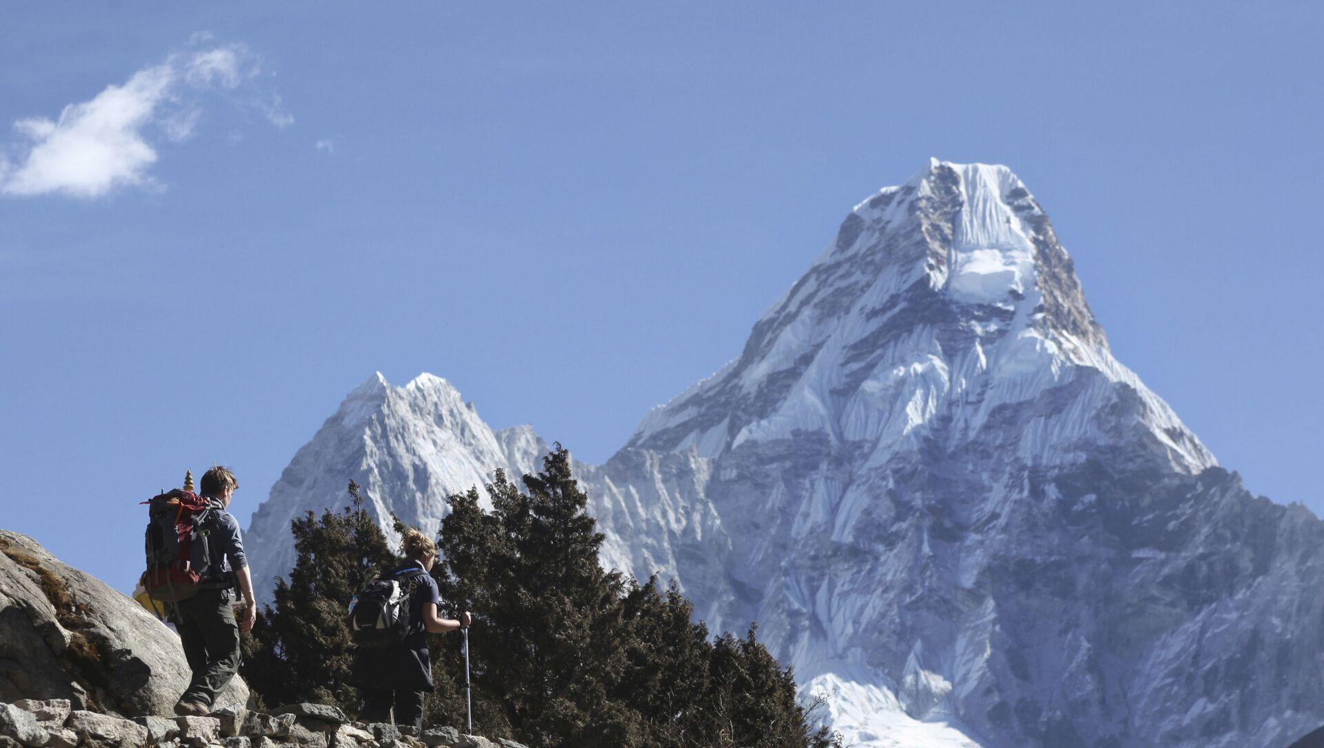 Mount Everest w Nepalu - Sputnik Polska, 1920, 03.02.2021