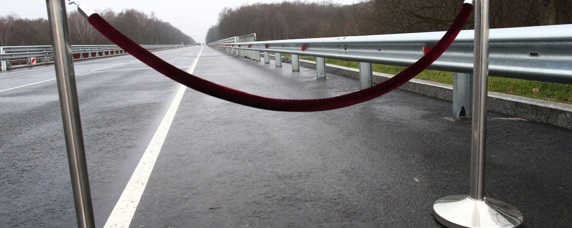 Most na trasie Kaliningrad - Mamonowo - granica Polski  - Sputnik Polska, 1920, 07.02.2021