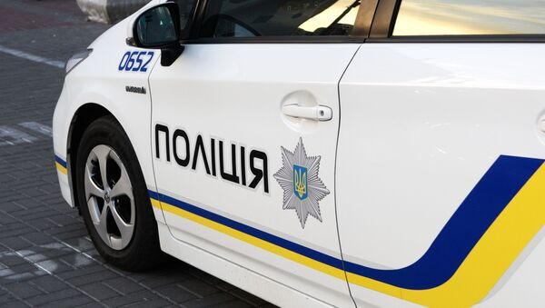 Radiowóz ukraińskiej policji - Sputnik Polska