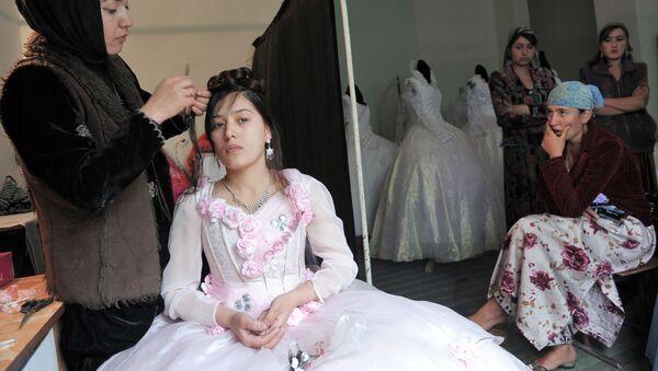 Salon ślubny w Tadżykistanie - Sputnik Polska