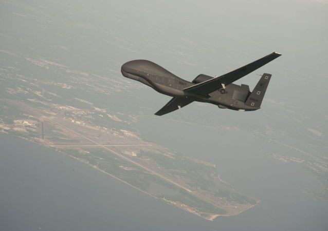 Amerykański dron RQ-4 Global Hawk