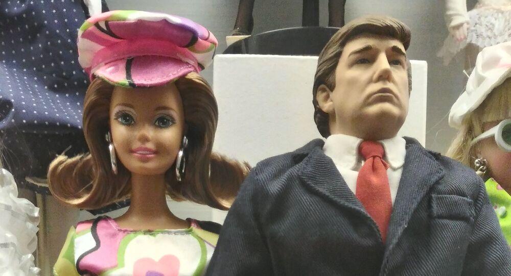 Barbie głosuje na Trumpa