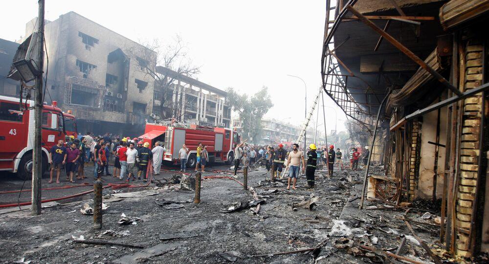 Zamach w Bagdadzie