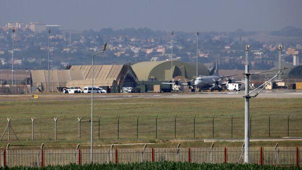 Wojskowa baza lotnicza USA Incirlik w Turcji  - Sputnik Polska
