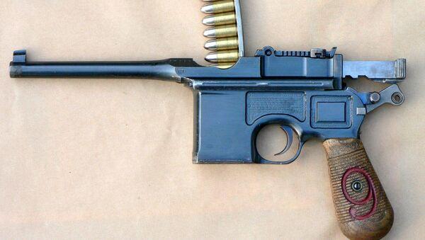 Niemiecki pistolet Mauser K 96 - Sputnik Polska