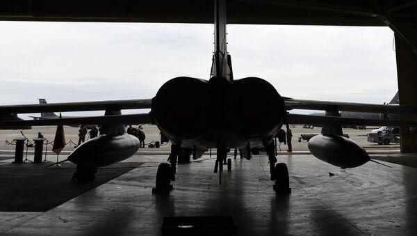 Samolot Tornado niemieckich sił lotniczych w bazie lotniczej Incirlik w Turcji - Sputnik Polska