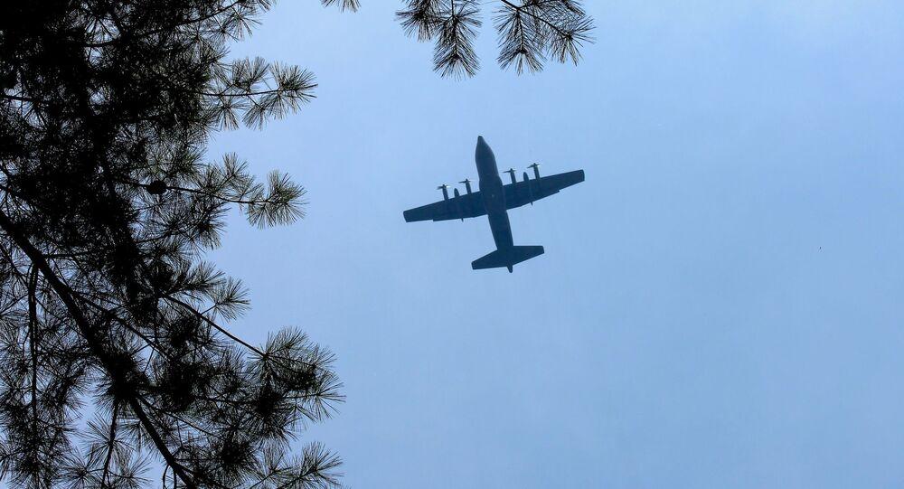 Samolot С-130 Hercules amerykańskich sił powietrznych