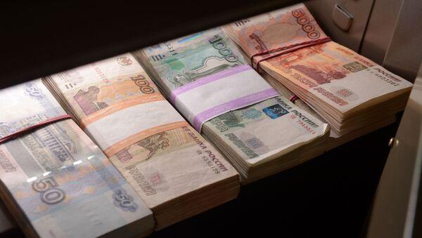 Banknoty rosyjskie - Sputnik Polska