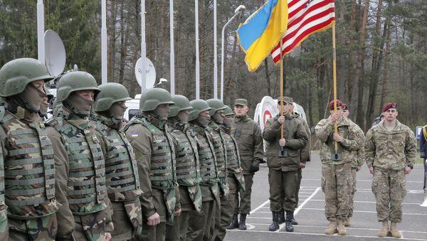 Ukraińsko-amerykańskie ćwiczenia sztabowe w obwodzie lwowskim - Sputnik Polska