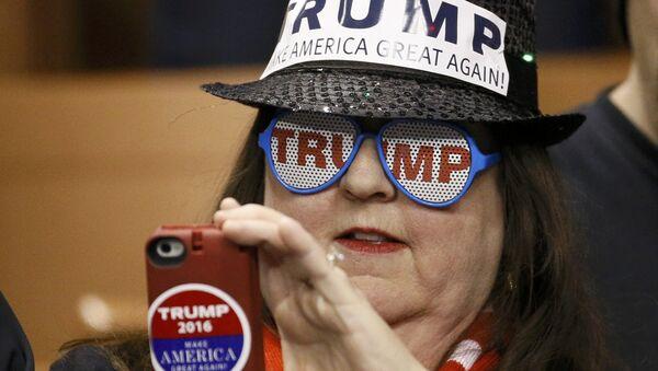 Zwolenniczka Trumpa - Sputnik Polska