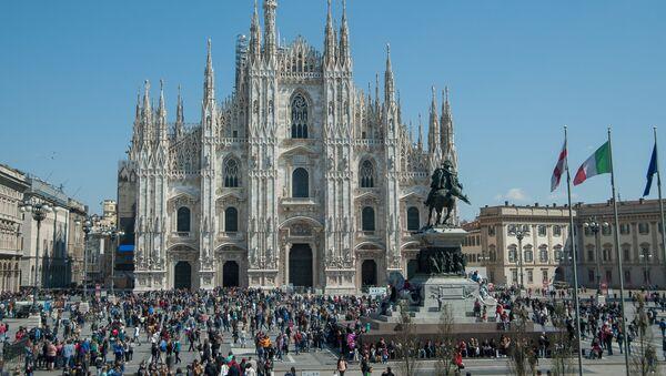 Katedra Narodzin św. Marii w Mediolanie. - Sputnik Polska