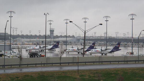 Międzynarodowe lotnisko w Memphis - Sputnik Polska