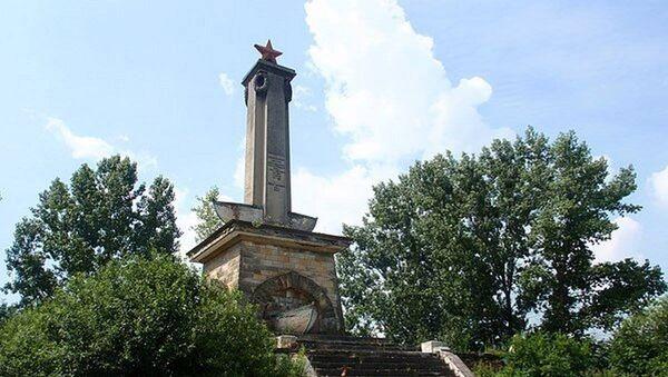 Pomnik w Mikolinie - Sputnik Polska