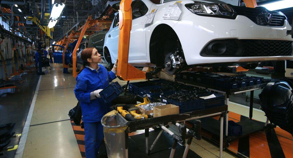 Fabryka samochodów AwtoWAZ w Togliatti