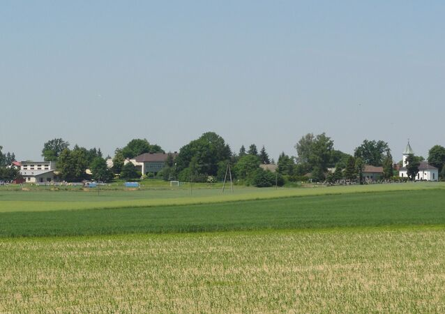 Miejscowość Pruchna k. Cieszyna