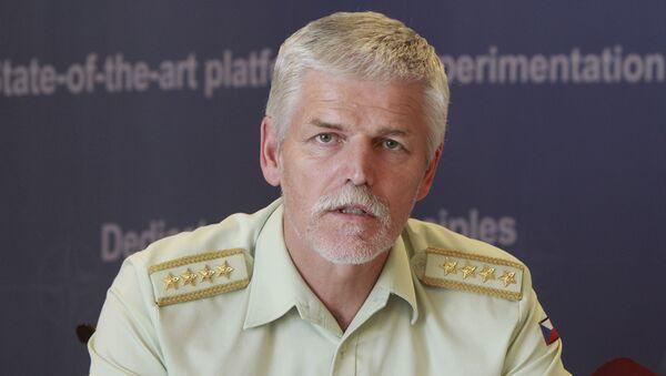 Szef Komitetu Wojskowego NATO gen. Petr Pavel - Sputnik Polska