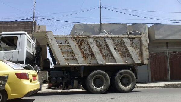 Daesh w Mosulu zabiera ludziom anteny satelitarne - Sputnik Polska