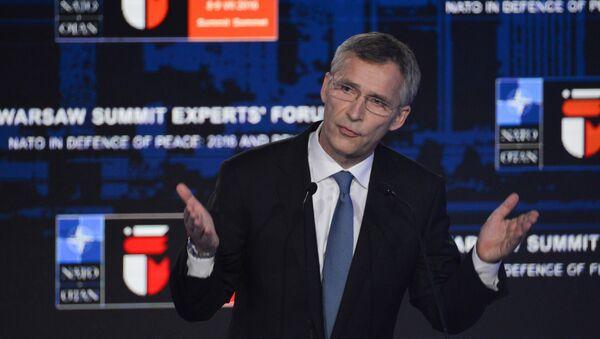 Sekretarz generalny NATO Jens Stoltenberg - Sputnik Polska