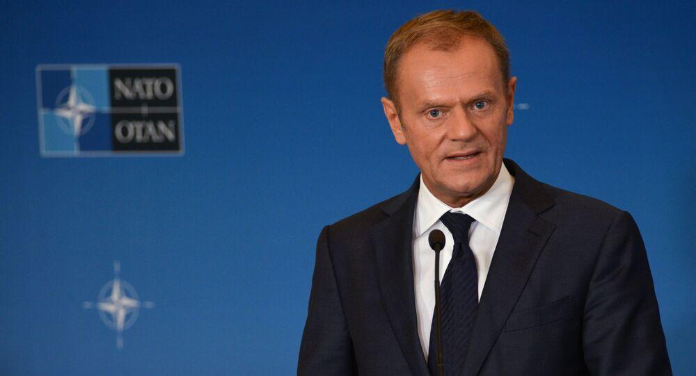 Przewodniczący Rady Europejskiej, były premier Polski Donald Tusk