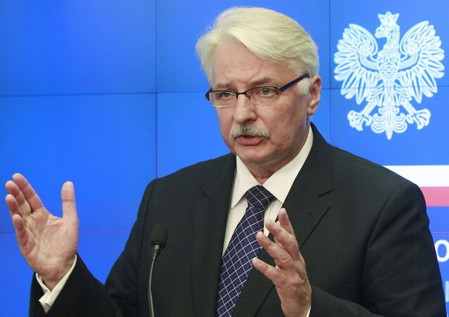 Szef polskiej dyplomacji Witold Waszczykowski