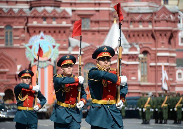 Próba Parady Zwycięstwa na Placu Czerwonym, 2015 rok