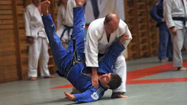 Judo to ulubiona dyscyplina Władimira Putina - Sputnik Polska