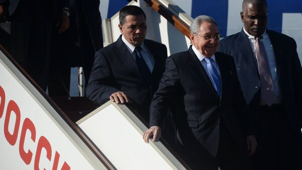 President of Cuba Raul Castro's visit to Moscow - Sputnik Polska