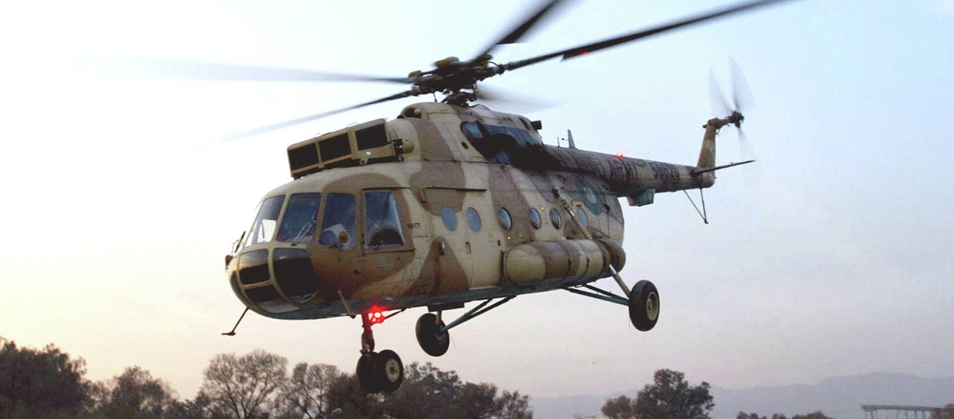 Wypadek helikoptera w Pakistanie - Sputnik Polska, 1920, 08.05.2015