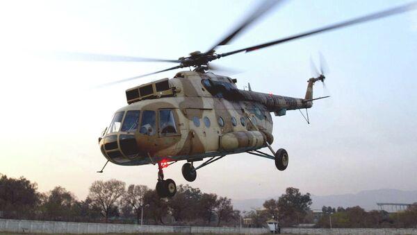 Wypadek helikoptera w Pakistanie - Sputnik Polska