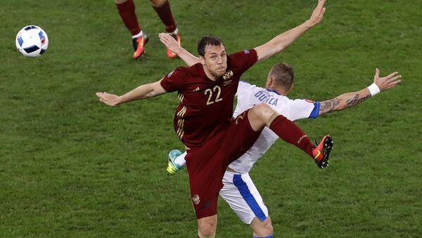 Mecz Rosja-Słowacja - Sputnik Polska