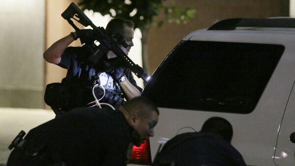 Policja w Dallas dostaje nowe pogróżki - Sputnik Polska