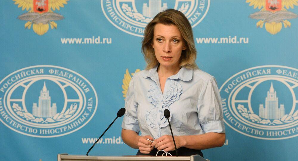 Rzeczniczka rosyjskiego resortu polityki zagranicznej Maria Zacharowa