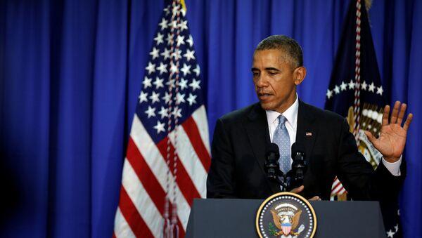 Prezydent USA Barack Obama - Sputnik Polska