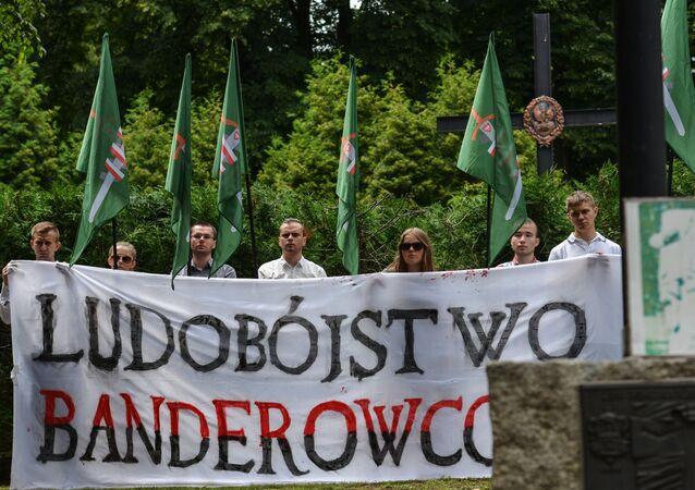 Marsz ku pamięci ofiar Rzezi Wołyńskiej w Polsce.
