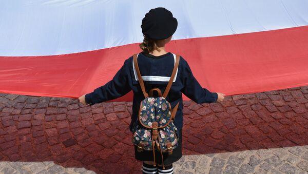 Flaga Polski, zdjęcie archiwalne - Sputnik Polska