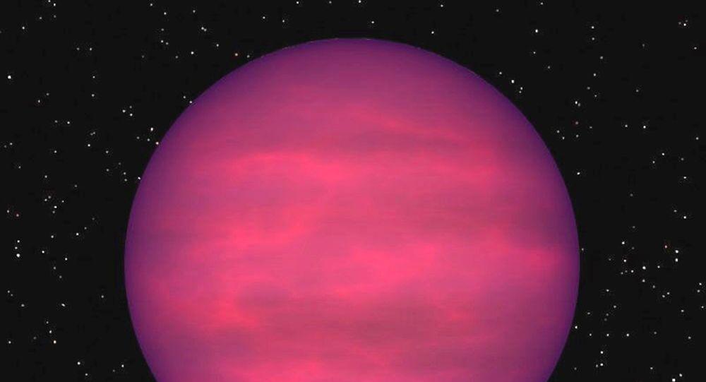 Artystyczne przedstawienie planety J1122+25