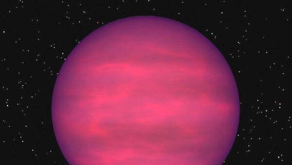 Artystyczne przedstawienie planety J1122+25 - Sputnik Polska