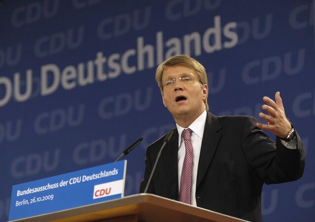 Niemiecki polityk Ronald Pofalla