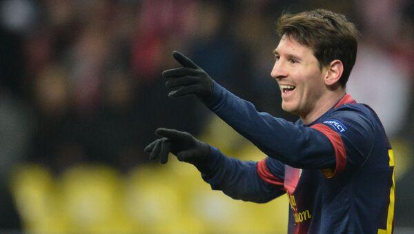 Kapitan reprezentacji Argentyny w piłce nożnej Lionel Messi jest na 8. Miejscu listy. Forbes oszacował jego dochody na 81,5 mln dolarów. - Sputnik Polska