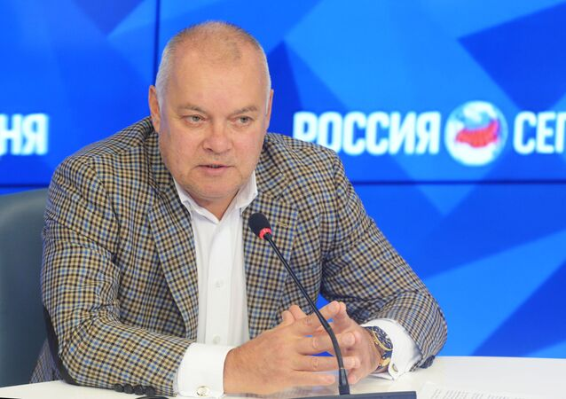 Dyrektor generalny MIA Rossiya Siegodnia Dmitrij Kisielow