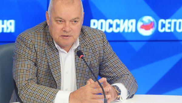 Dyrektor generalny MIA Rossiya Siegodnia Dmitrij Kisielow - Sputnik Polska