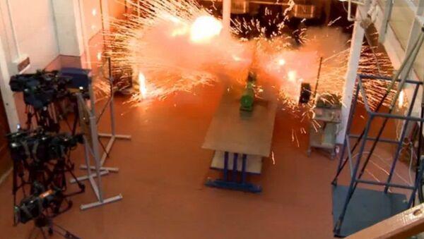 Wystrzał z railguna: pierwsze testy rosyjskiego działa elektromagnetycznego - Sputnik Polska